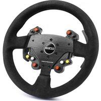 THRUSTMASTER Sparco R383 Mod Rally Wheel Add-On - Black, Black.