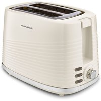 MORPHY RICHARDS Dune 220027 2-Slice Toaster - Cream, Cream