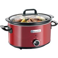 CROCK-POT SCV400RD Slow Cooker - Red, Red