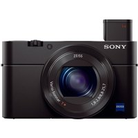 Sony Cyber-shot DSC-RX100 III High Performance Compact Camera - Black,