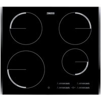 ZANUSSI ZEI6740BBA Electric Induction Hob - Black, Black