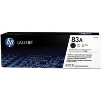 HP 83A Black Toner Cartridge, Black