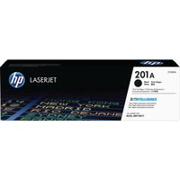 HP 201A Black Toner Cartridge, Black