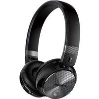 PHILIPS SHB8850NC Wireless Bluetooth Noise-Cancelling Headphones - Black, Black