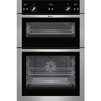 NEFF U15E52N5GB Electric Double Oven - Stainless Steel, Stainless Steel