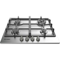 INDESIT Aria THP 641 W/IX/I Gas Hob - Stainless Steel, Stainless Steel