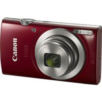 Canon IXUS 185 Compact Camera - Red,