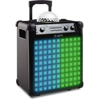 Ion Party Rocker Max Portable Bluetooth Wireless Speaker - Black, Black at Currys Electrical Store