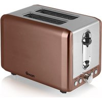 Buy SWAN ST14040COPN 2-Slice Toaster - Copper - Currys PC World