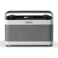 Roberts Stream 218w Portable Dabﱓ Smart Bluetooth Radio - White, White