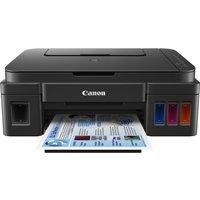 Canon PIXMA G3501 All-in-One Wireless Inkjet Printer, Black