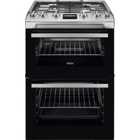 ZANUSSI ZCG63260XE 60 cm Gas Cooker - Stainless Steel, Stainless Steel.