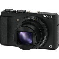 Sony Cyber-shot DSC-HX60B Superzoom Compact Camera - Black, Black
