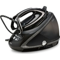 TEFAL Pro Express Ultimate + GV9610 High Pressure Steam Generator Iron - Black, Black