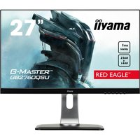"IIYAMA G-MASTER Red Eagle GB2760 Quad HD 27"" TN LCD Gaming Monitor - Black, Red"