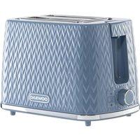 DAEWOO Argyle Collection SDA1823 2-Slice Toaster - Blue, Blue
