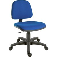 TEKNIK Ergo Blaster Fabric Tilting Operator Chair - Blue, Blue