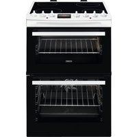 Click to view product details and reviews for Zanussi Airfry Zcv69360wa 60 Cm Electric Ceramic Cooker White White.