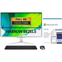 """ACER Aspire C27 27"""" All-in-One PC & Microsoft 365 Family Bundle - Intel®Core i5, 1 TB SSD"""