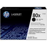 HP LaserJet 80X Black Toner Cartridge, Black