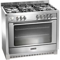 BAUMATIC BCD905SS Dual Fuel Range Cooker - Stainless Steel, Stainless Steel