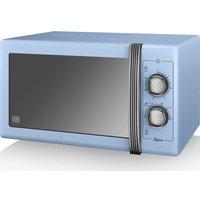 SWAN Retro SM22070BLN Solo Microwave - Blue, Blue