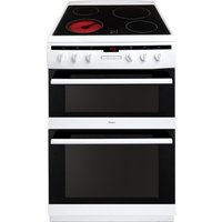 AMICA 608DCE2Ta(W) Electric Ceramic Cooker - White, White