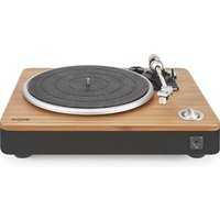 House Of Marley Stir It Up Turntable - Bamboo & Black, Black