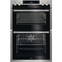 AEG DCS431110M Electric Double Oven - Stainless Steel, Stainless Steel