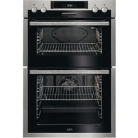 AEG SurroundCook DES431010M Electric Double Oven - Stainless Steel, Stainless Steel