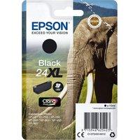 EPSON Elephant 24XL Black Ink Cartridge, Black
