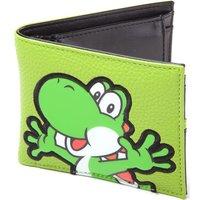 Nintendo Yoshi Pvc Patch Bifold Wallet - Green, Green at Currys Electrical Store