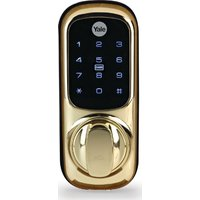 YALE Keyless Connected Smart Ready Door Lock - Polished Brass