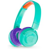 JBL JR300BT Wireless Bluetooth Kids Headphones - Tropical Teal, Teal