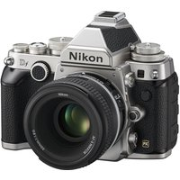 Nikon Df DSLR Camera With 50 Mm F/1.8 G Standard Lens, White