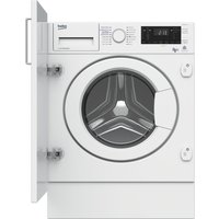 BEKO  WDIX8543100 Integrated Washer Dryer - White, White