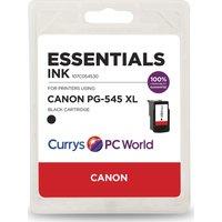 ESSENTIALS PG-545XL Black Canon Ink Cartridge, Black