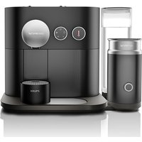 NESPRESSO by Krups Expert & Milk XN601840 Smart Coffee Machine - Black, Black