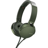 SONY Extra Bass MDR-XB550AP Headphones - Green, Green