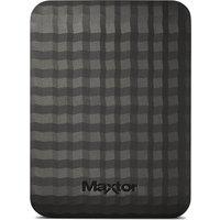 MAXTOR M3 Portable Hard Drive - 500 GB, Black, Black