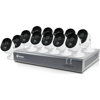 SWANN SODVK-1645812 Security System - 16 Channel, 12 Cameras