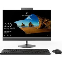 "LENOVO 520-22AST 21.5"" AMD A9 All-in-One PC - 1 TB, Black, Black"
