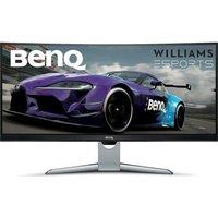 """BENQ EX3501R Quad HD 35"""" Curved VA Gaming Monitor - Grey, Grey"""