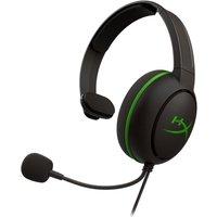 HYPERX CloudX Chat Gaming Headset - Black & Green, Black