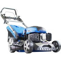 HYUNDAI HYM460SPE Cordless Rotary Lawn Mower - Blue, Blue