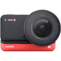 INSTA360 ONE R 1-Inch Edition 5.3K Action Camera - Black & Red, Black