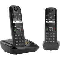 GIGASET AS690A Cordless Phone - Twin Handsets.