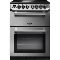 RANGEMASTER Professional 60 Electric Ceramic Cooker - Stainless Steel, Stainless Steel