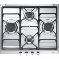 SMEG SE60SGH3 Gas Hob - Stainless Steel, Stainless Steel