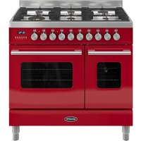 BRITANNIA Delphi 90 RC9TGDERED Duel Fuel Range Cooker - Red, Red